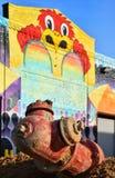 Vattenlinjer på den östliga marknaden i Detroit reparerade Royaltyfri Foto
