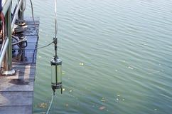 Vattenmärkduk i forskning Royaltyfria Bilder