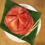 vattenmelon Arkivbilder