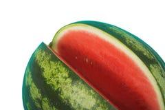 vattenmelon för clippingbana Arkivbild