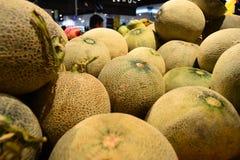 Vattenmelon för din baner och broschyr Royaltyfri Foto