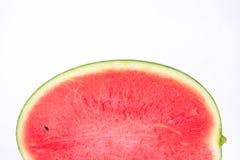Vattenmelon på vitbakgrund Royaltyfri Bild