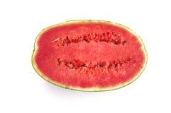 Vattenmelon på vitbakgrund Royaltyfria Bilder
