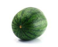 Ny vattenmelon på vitbakgrund Arkivbilder