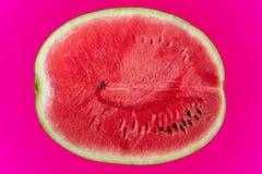 Vattenmelon pop-konst stil Arkivfoto