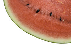 Isolerad vattenmelon Royaltyfria Bilder
