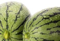 vattenmelon två arkivbild