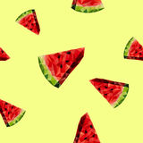 Vattenmelonbakgrund Royaltyfri Foto