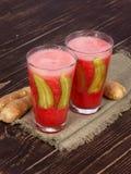 Vattenmeloncoctail Royaltyfria Bilder