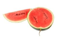 Vattenmelonskiva Fotografering för Bildbyråer