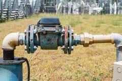 Vattenmeter Arkivbild