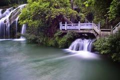 Vattennedgång Arkivfoto
