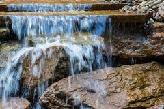 Vattennedgång Arkivbilder