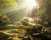 vattennedgångar Fotografering för Bildbyråer