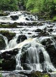 Vattennedgångar i nordliga Wisconsin Arkivbilder