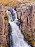 Vattennedgångar Arkivfoto