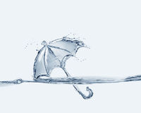 Vattenparaply Royaltyfri Bild
