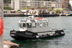 Vattenpolisfartyg Royaltyfri Bild