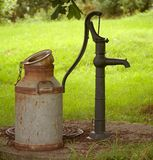 Vattenpump Royaltyfria Foton