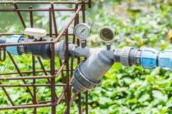 Vattenpump. Arkivbild