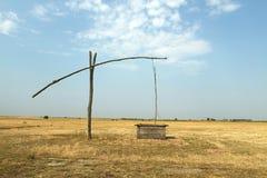 Vattenpump i Ungern Fotografering för Bildbyråer