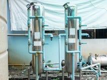 Vattenpumpsystem, körning för elektriska motorer av hemmet royaltyfria bilder