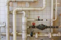Vattenrör Fotografering för Bildbyråer