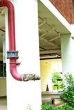 Vattenrör royaltyfri fotografi