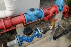 Vattenrør Royaltyfri Foto