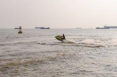 Vattenskidåkning Royaltyfri Fotografi
