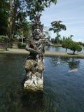 Vattenslott i Bali, Tirthaganga Arkivfoto