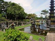 Vattenslott i Bali, Tirthaganga Arkivbild