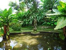 Vattenslott i Bali, Tirthaganga Royaltyfri Fotografi