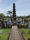 Vattenslott i Bali, Tirthaganga Royaltyfri Bild