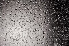 Vattensmå droppar Royaltyfri Bild