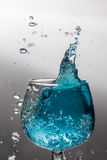 Vattensplase Arkivfoto