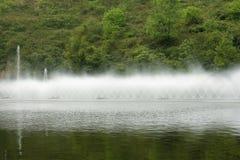 Vattensprej Fotografering för Bildbyråer