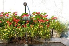 Vattenspringbrunn Arkivfoto