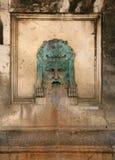 Vattenspringbrunn, Arles, Frankrike Royaltyfri Fotografi
