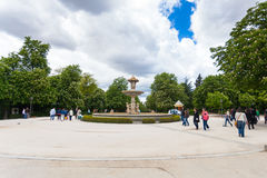 Vattenspringbrunn i Royaltyfria Bilder