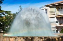 Vattenspringbrunn i Cazorla Royaltyfria Foton