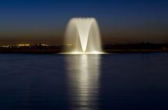 Vattenspringbrunn i Madrid - Spanien Royaltyfri Fotografi