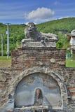 Vattenspringbrunn nära Soravilla Royaltyfri Fotografi