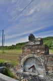 Vattenspringbrunn nära Soravilla Royaltyfria Bilder