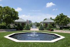 Vattenspringbrunnar Royaltyfri Bild