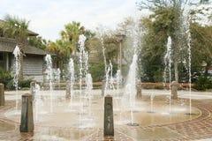 Vattenspringbrunnen Royaltyfri Foto
