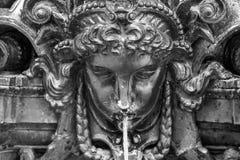Vattenstilsortsskulptur i Rio de Janeiro Royaltyfria Bilder