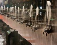 Vattensvalning för Laminar flöde Arkivfoton