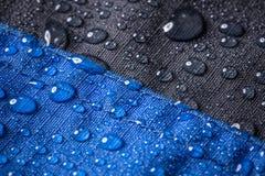 Vattentätt tyg för fiber royaltyfria foton