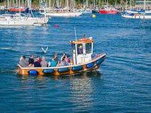 Vattentaxi Dartmouth Devon England Royaltyfri Foto